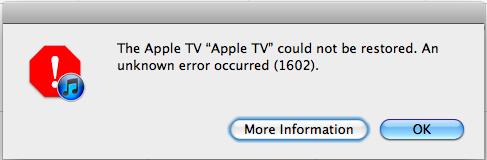 Restoring Your Apple Tv When Its White Light Is Flashing Comics