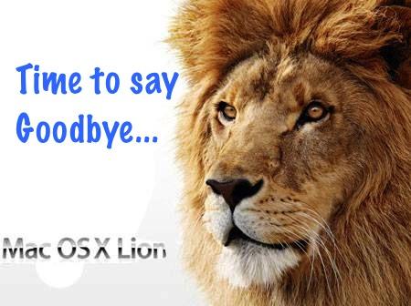 goodbyeosxlion